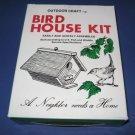 Wood birdhouse kit