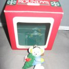 1996 mouse holding Christmas tree Christmas ornament