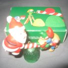 Avon Santas See Saw ornament 1983