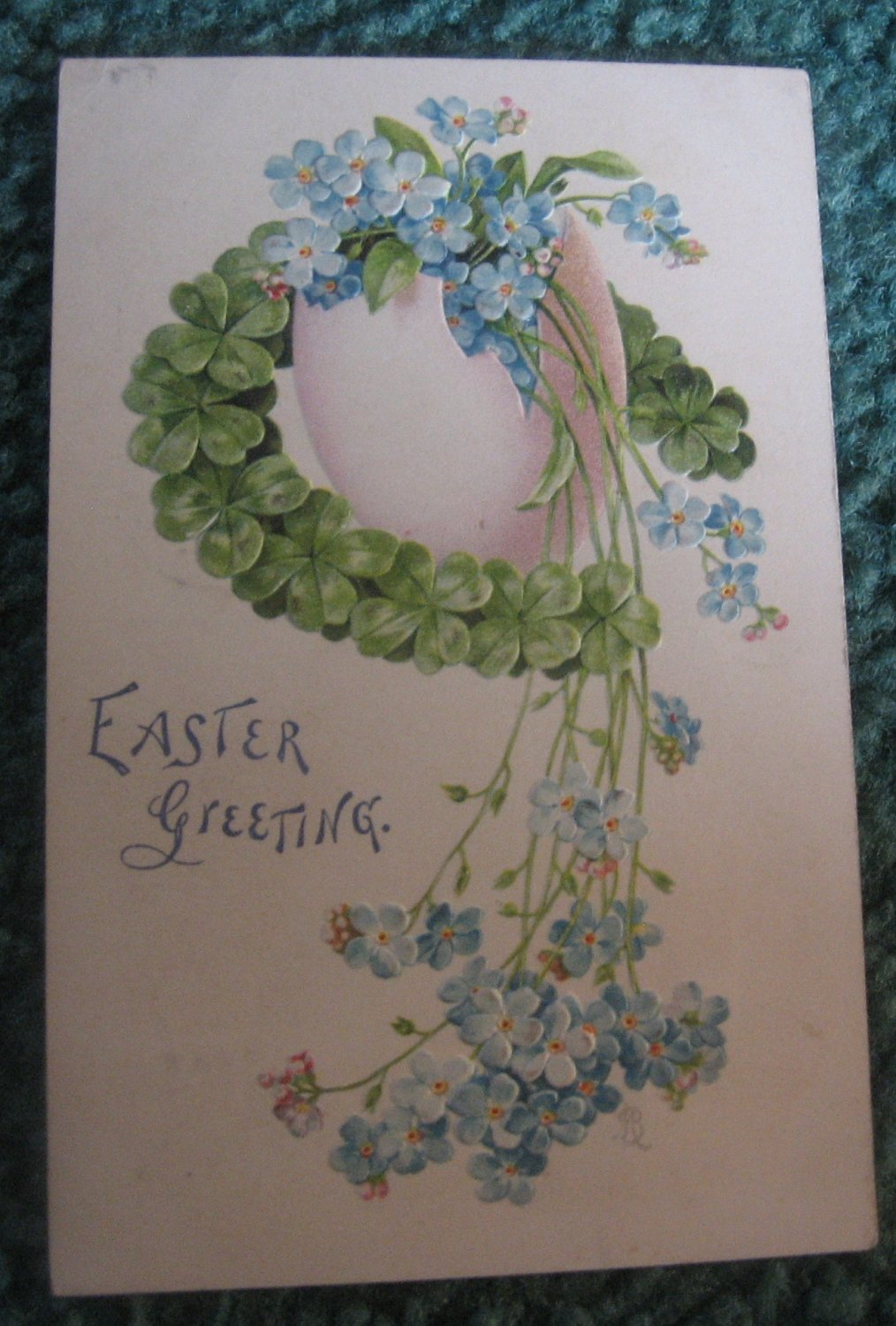 Easter Greeting Postcard E6