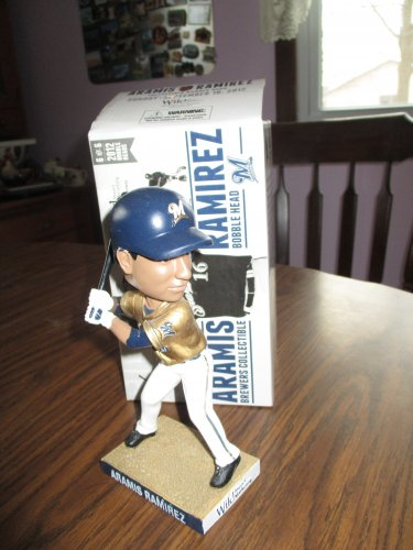 Aramis Ramirez 2012 Milwaukee Brewers  Bobblehead