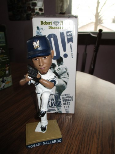 Yovani Gallardo 2012 Milwaukee Brewers  Bobblehead