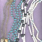 Necklaces..7 vintage