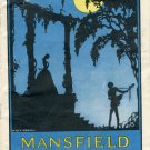 Manfield Theatre 1930 program 47th street west of  Broadway