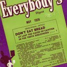 Everybody's Digest magazine May 1939 informative reading material
