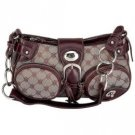 Purse - Gigi Chantal™ Small Brown Jacquard