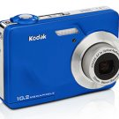 Kodak C180 EasyShare 10MP Digital Camera with 3x Optical Zoom and 2.4 inch LCD- Blue