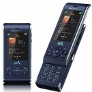 Sony Ericsson W595 GSM Quadband Phone (Unlocked) Active Blue