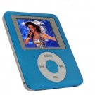 Visual Land 2GB Personal Media MP4 PLAYER (Blue)