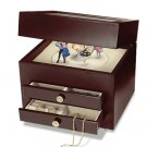 Crosely BK320 Musical Jewelry Box