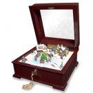 Crosley BK325 Deluxe Sleigh Music Box