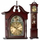 Kassel™ Grandfather Clock with Curio Cabinet