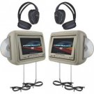 "Power Acoustik 8.8"" Universal Headrest Monitors"