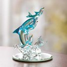 Spun-glass Dolphin Figurine