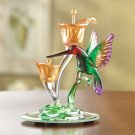 Art-glass Hummingbird Figurine