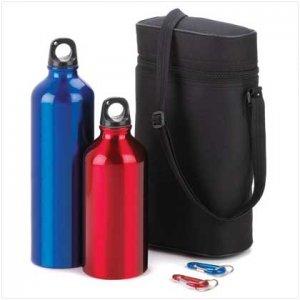 Aluminum Water Bottle Set