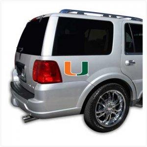 Miami Hurricanes Car Magnet