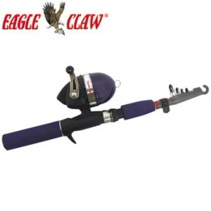 Eagle Claw Graphite Rod & Spincasting Reel Combo