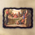 Null Last Supper Wall Clock