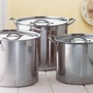Null Stainless Steel Stock Pot Set