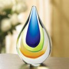 Null Art-glass Teardrop