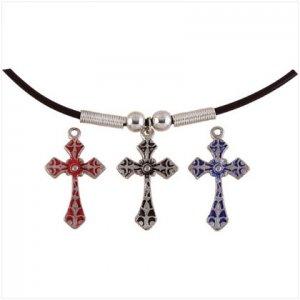 NULL Heirloom Cross Necklace