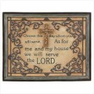 Null Inspirational Prayer Plaque