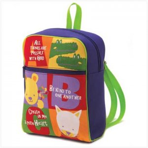 Abc`s Of Faith Backpack