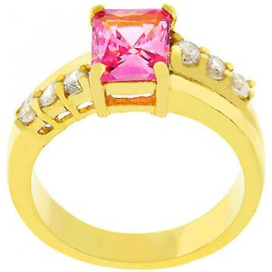 Null Pink Ice Radiant Ring