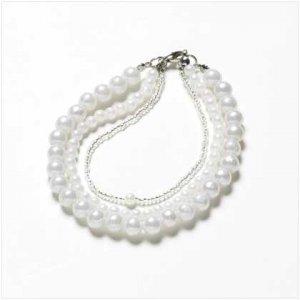 Null 3 Strands Pearl Bracelet