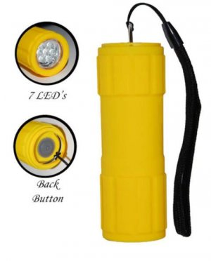Waterproof Shock resistant 7 LED Flashlight FL3031WSY