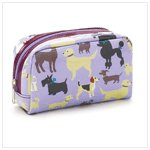 Doggy Delights Cosmetic Bag