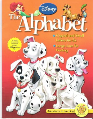 Disney The Alphabet Learn to write your alphabet