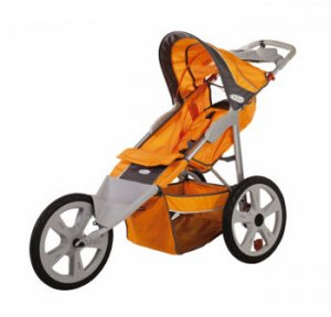 Instep 11-AR108 Flash Fixed Wheel Jogger Single Stroller