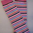 Multicolor Thin Stripes Leggie Weggies, Baby Leg Warmers