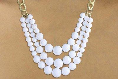 Sphere beaded Necklace & Earring set -W16551NE