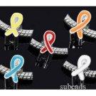 300pcs wholesale lot Enamel RIBBON Beads DIY Charm Bracelet