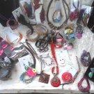wholesale lot FASHION JEWELRY 20pcs sets bracelets necklaces earrings feathers