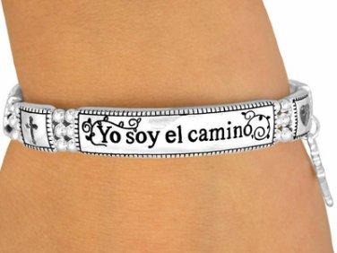 "FASHION Stretch Bracelet Spanish ""Yo Soy El Camino, La Verdad, Y La Vida."""