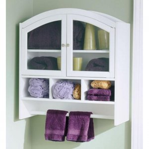 Arch Top Bathroom Wall Cabinet
