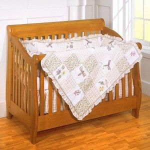 Bloomsberry 4-piece Patchwork Crib Set