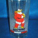 GLASSWARE AS SHOWN~FIRNA SEASONINGS GREETING SANTA