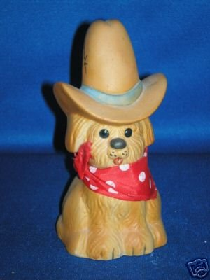 COMIC COWBOY DOG MONEY BANK AS SHOWN