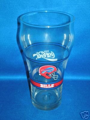 GLASS AS SHOW~COCA-COLA BUFFALO BILLS