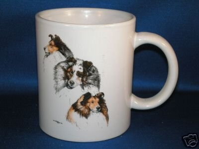 SHETLAND SHEEPDOG COFFEE MUG WITH HISTORY