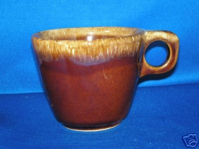 HULL BROWN DRIP COFFEE CUP AS SHOWN
