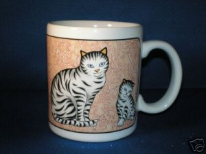 KAT'S CATS! CAT COFFEE CUP