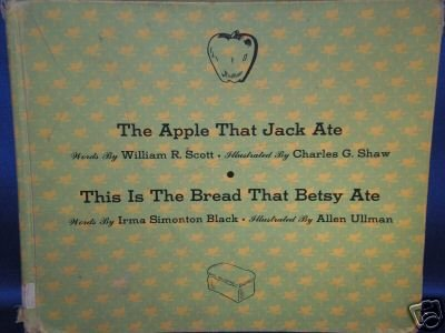 VINTAGE BOOK AS SHOWN~THE APPLE THAT JACK ATE~1951