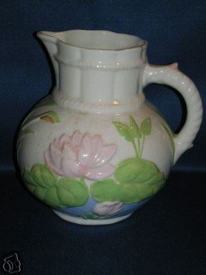 WATER LILY SHAPED WATER PITCHER