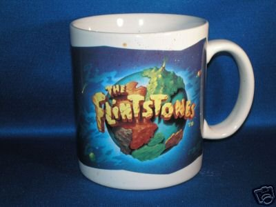 THE FLINTSTONES COFFEE CUP AS SHOWN